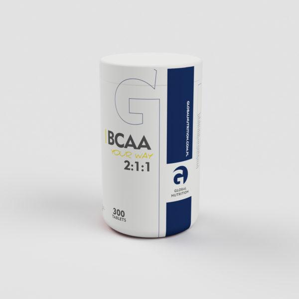 BCAA 2:1:1 tabletki 300 szt.