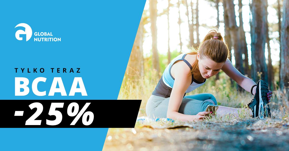 Łapcie okazję: BCAA 25% taniej!